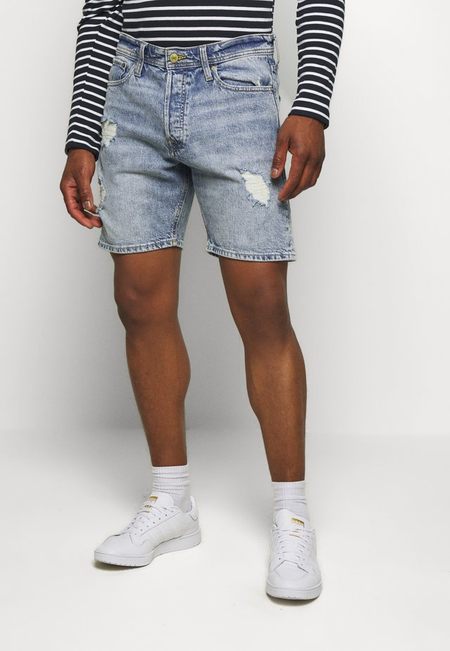 JJICHRIS JJORG - Shorts di jeans - blue denim