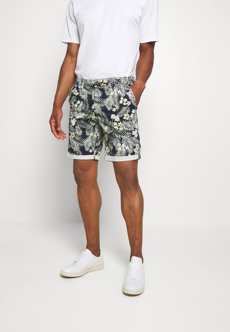 Jack & Jones - JJIBOWIE  - Shorts - navy blazer