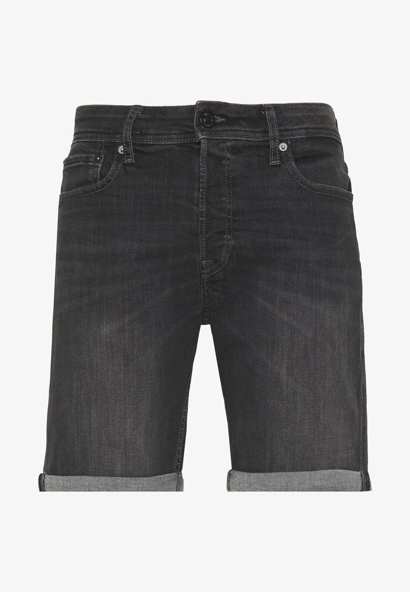 Jack & Jones - JJIRICK JJORIGINAL  - Denim shorts - black denim