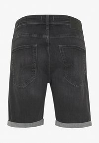 Jack & Jones - JJIRICK JJORIGINAL  - Denim shorts - black denim - 1