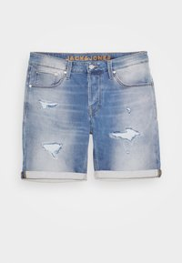 Jack & Jones - JJIRICK JJICON - Shorts vaqueros - blue denim - 3