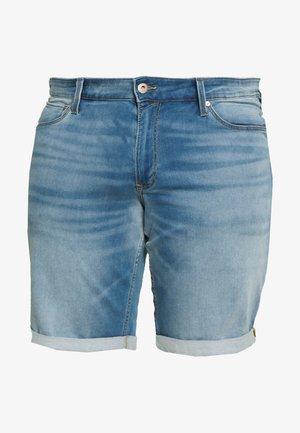 JJIRICK JJICON  - Jeans Shorts - blue denim
