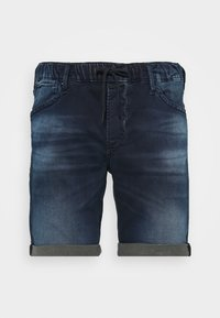 Jack & Jones - IRICK  - Denim shorts - blue denim - 3