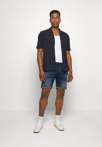 Jack & Jones - IRICK  - Denim shorts - blue denim - 1