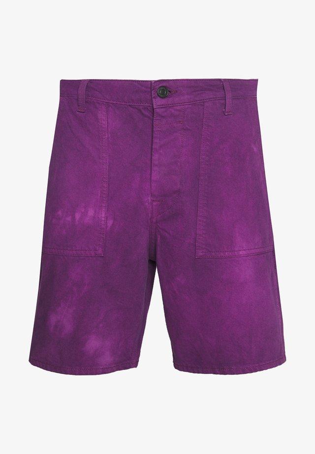 JJITONY JJUTILITY  - Jeans Shorts - sunset purple