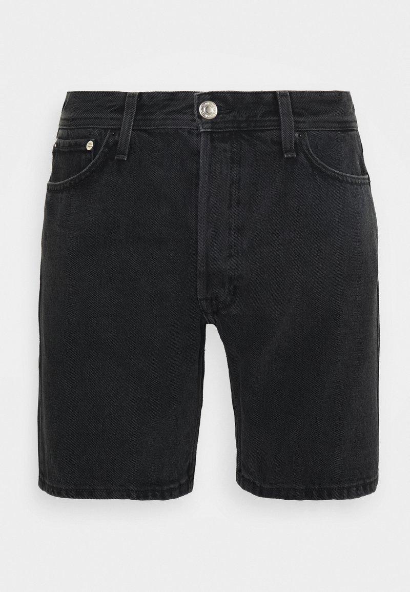 Jack & Jones - ORIGINAL SHORTS  - Denim shorts - black denim