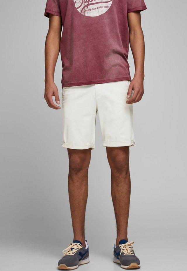 CHINOSHORTS KLASSISCHE - Shorts - silver birch