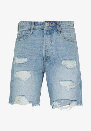 JJICHRIS JJORIGINAL  - Shorts vaqueros - blue denim