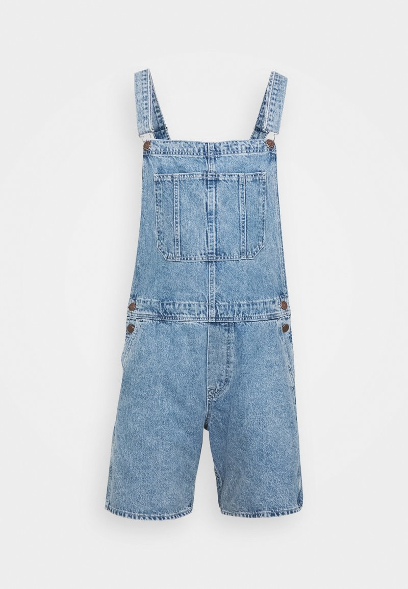 Jack & Jones - JJICHRIS JJDUNGAREE - Tuinbroek - blue denim