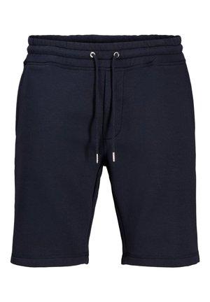 JACK & JONES SWEATSHORTS WEICHE - Shorts - navy blazer
