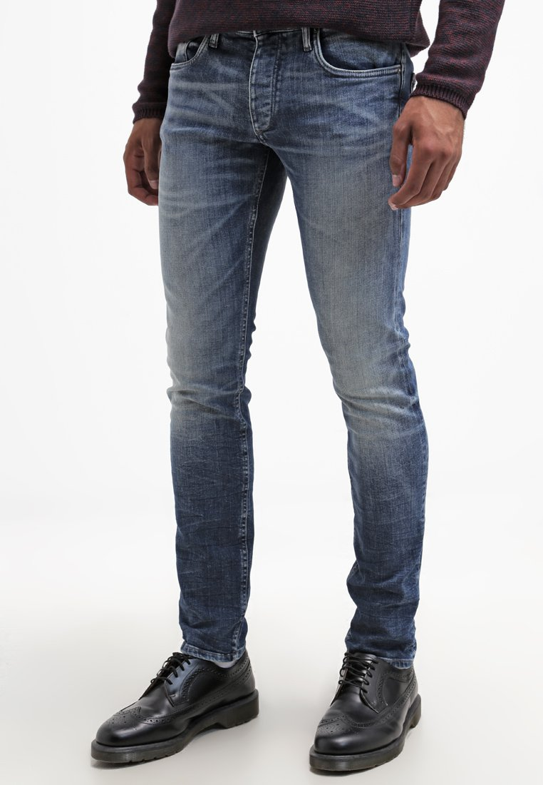 Jack & Jones - JJGLENN - Vaqueros slim fit - blue