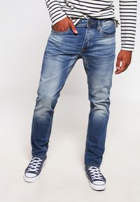 Jack & Jones - JJIMIKE JJORIGINAL  - Straight leg jeans - blue denim - 0