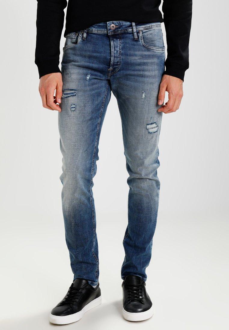 Jack & Jones - JJIGLENN JJORIGINAL JOS  - Slim fit jeans - blue denim