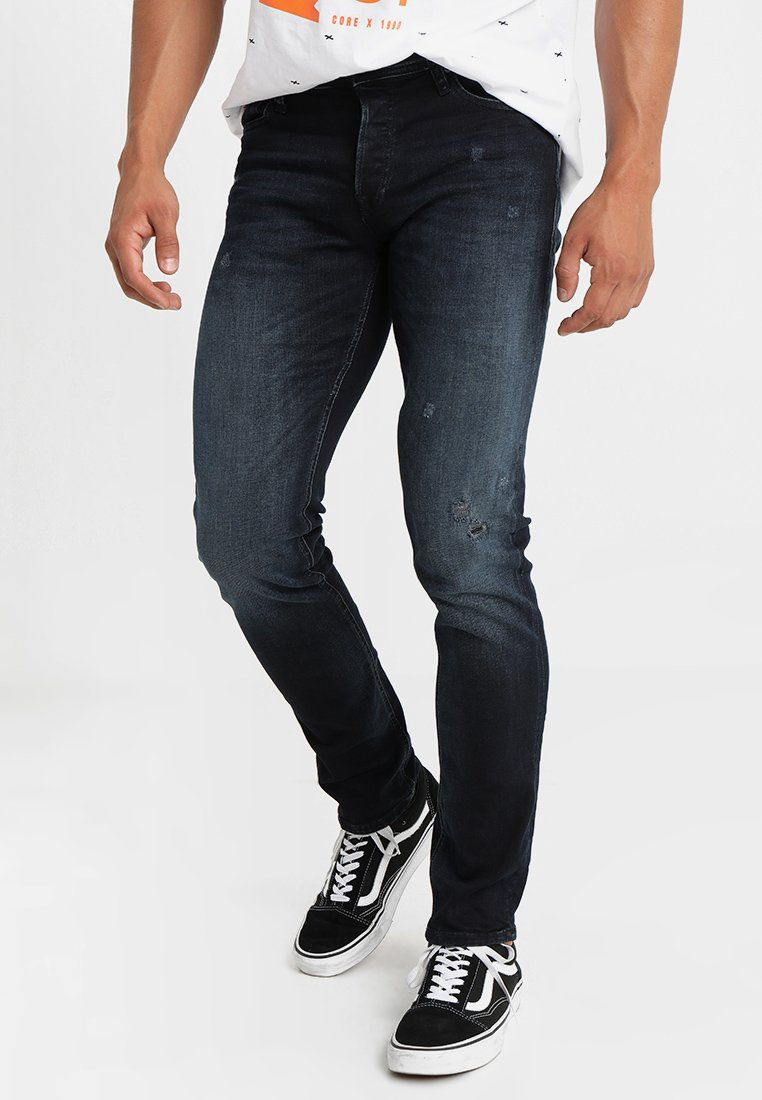 Jack & Jones - JIGLENN JORIGINAL  - Vaqueros slim fit - blue denim