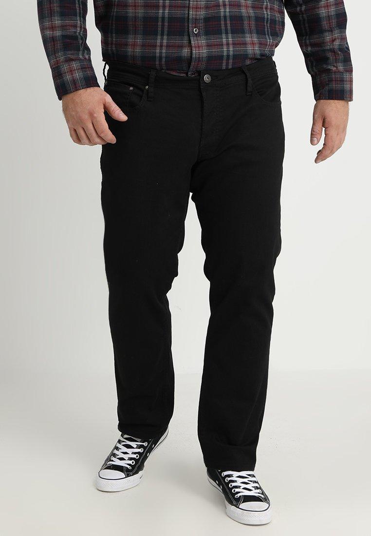 Jack & Jones - JJITIM JJORIGINAL PLUS - Straight leg jeans - black denim