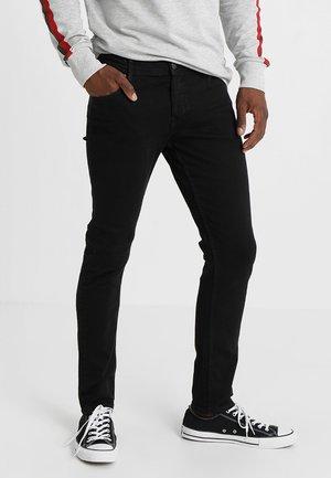 JJIGLENN JJORIGINAL - Slim fit jeans - black denim