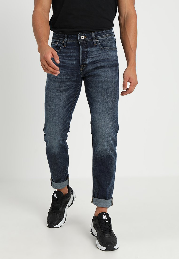 Jack & Jones - JJIMIKE JJORIGINAL - Straight leg jeans - blue denim