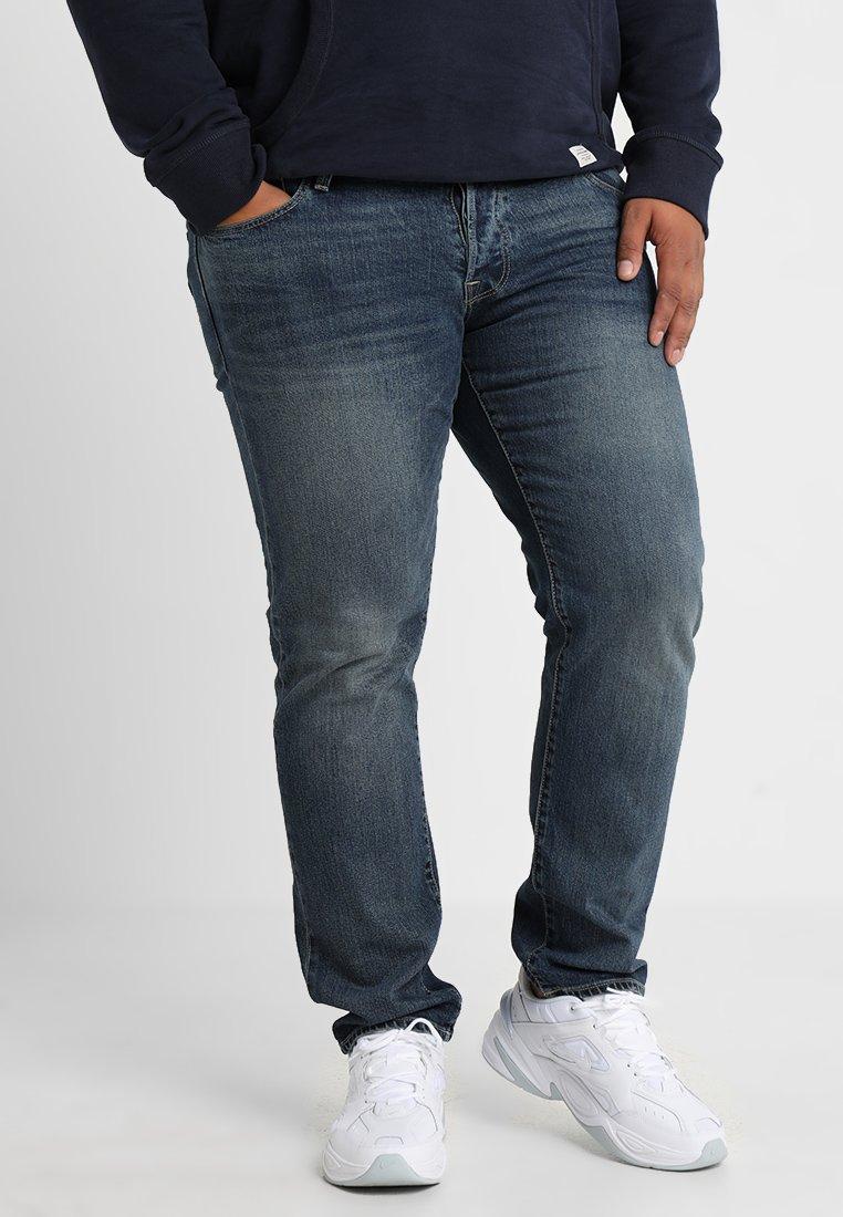 Jack & Jones - JJIGLENN JJICON - Straight leg jeans - blue denim