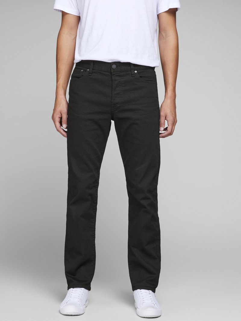 Jack & Jones - CHRIS ICON JOS - Straight leg -farkut - black