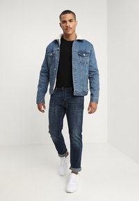 Jack & Jones - JJITIM JJORIGINAL  - Slim fit -farkut - blue denim - 1