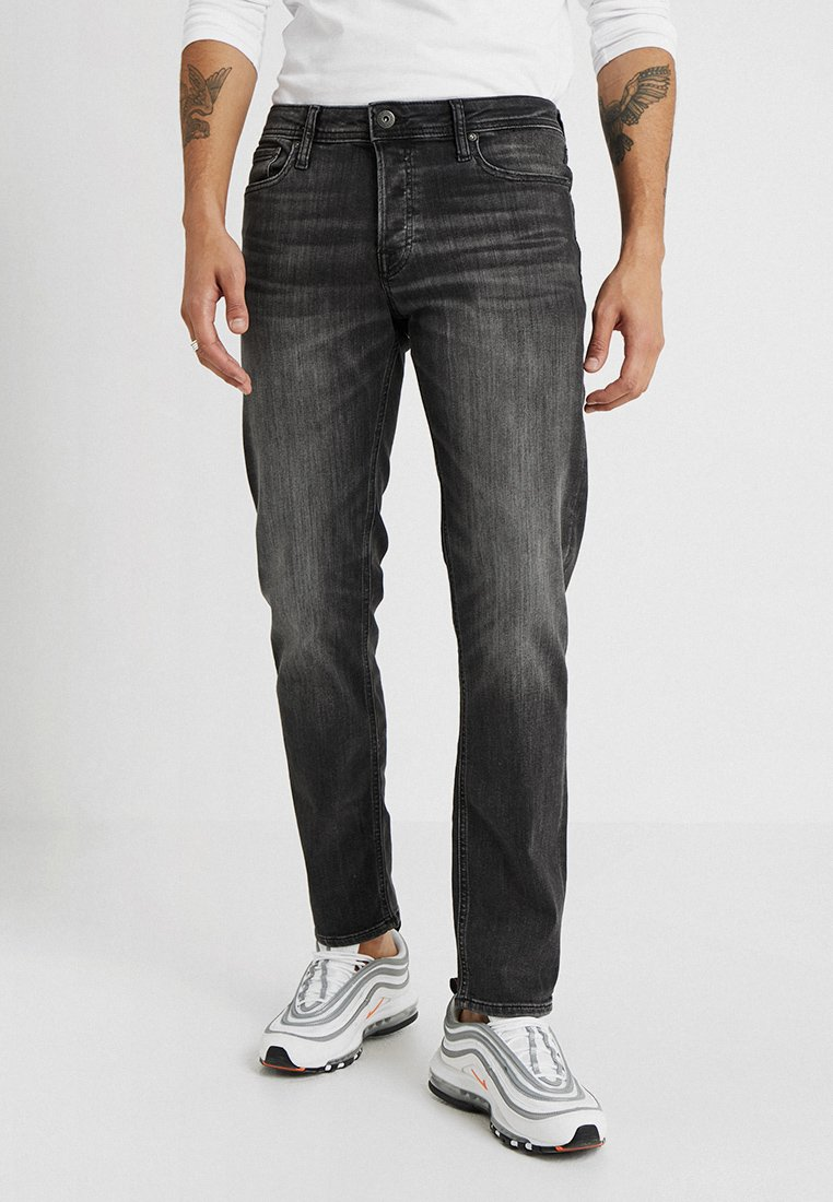Jack & Jones - JJIMIKE JJORIGINAL - Jeans Straight Leg - black denim