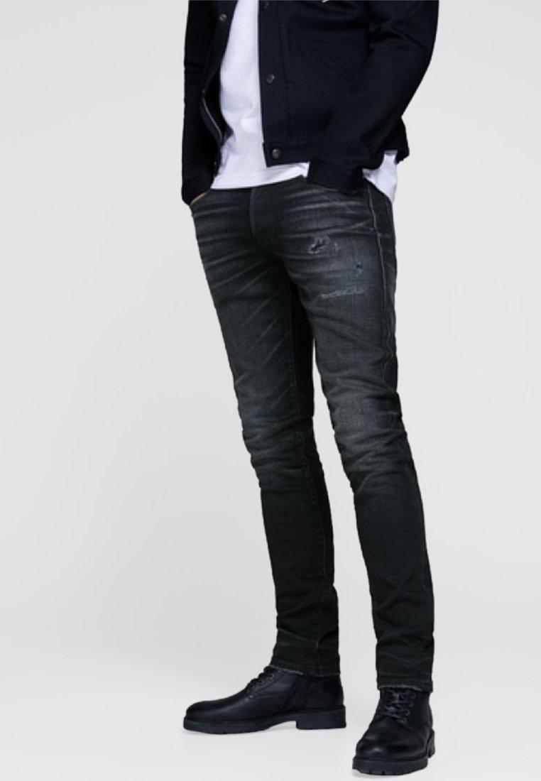 Jack & Jones - GLENN ROYAL - Vaqueros slim fit - black denim