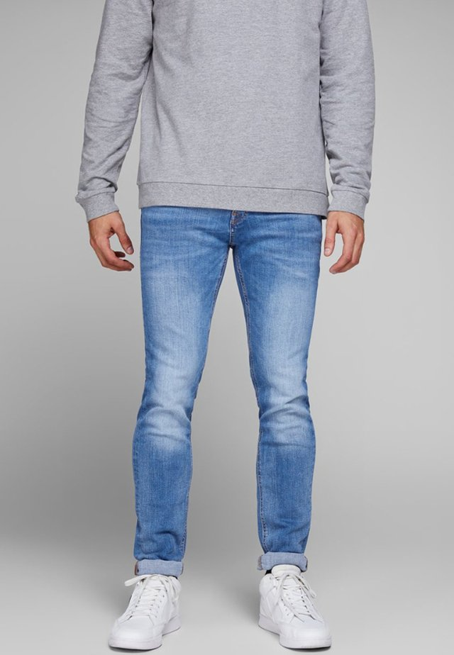TIM ORIGINAL  - Slim fit jeans - blue denim