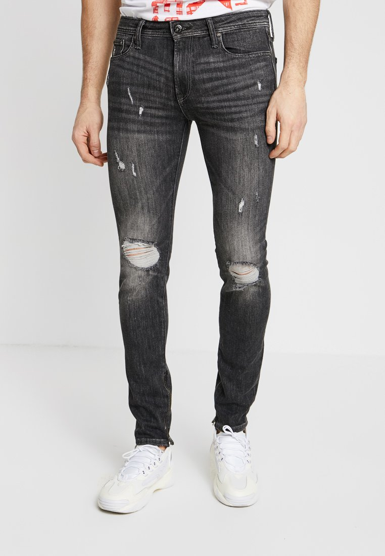 Jack & Jones - JJILIAM JJORIGINAL  - Jeans Skinny Fit - black denim