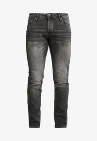 Jack & Jones - JJIGLENN JJORIGINAL - Vaqueros slim fit - black denim - 4