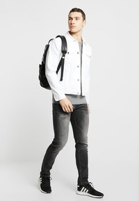 Jack & Jones - JJIGLENN JJORIGINAL - Jeans slim fit - black denim - 1