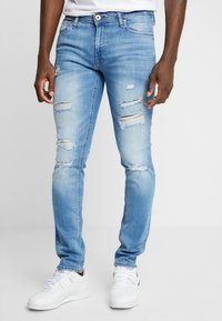 Jack & Jones - JJILIAM JJORIGINAL - Skinny džíny - blue denim - 0