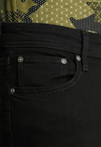 Jack & Jones - JJIGLENN JJORIGINAL - Džíny Slim Fit - black denim - 3