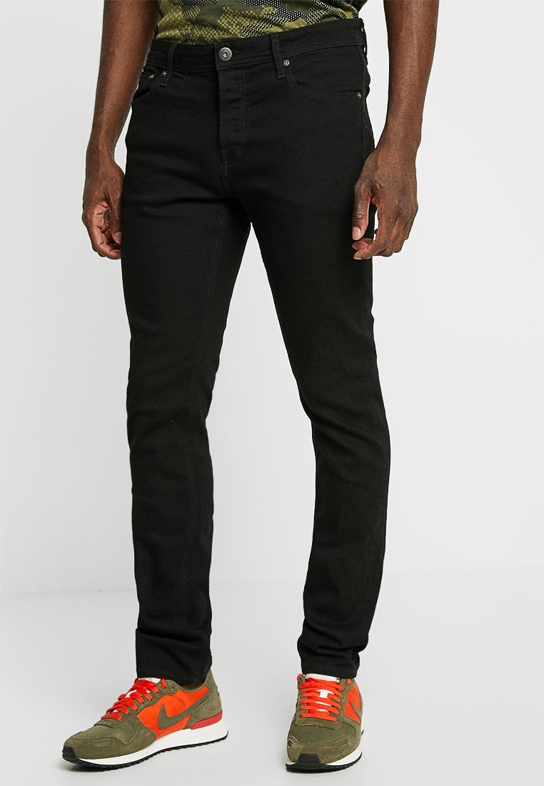 Jack & Jones - JJIGLENN JJORIGINAL - Džíny Slim Fit - black denim