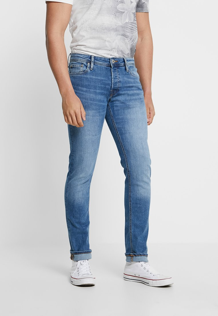Jack & Jones - JJIGLENN JJORIGINAL - Vaqueros slim fit - blue denim