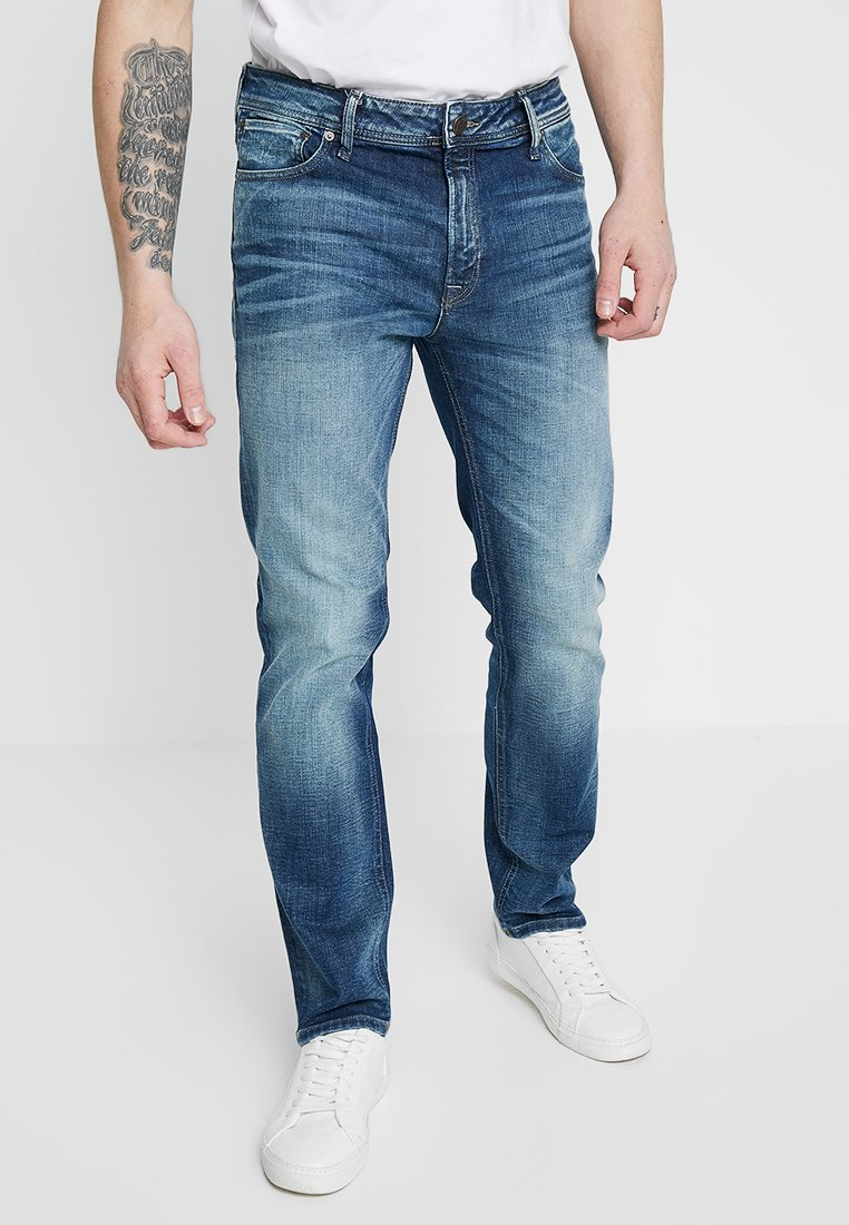 Jack & Jones - JJICLARK JJORIGINAL JOS - Straight leg jeans - blue denim