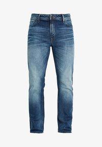 Jack & Jones - JJICLARK JJORIGINAL JOS - Jeans straight leg - blue denim - 4
