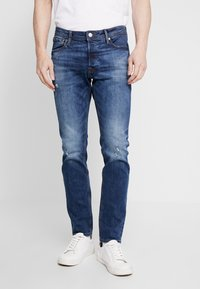 Jack & Jones - JJIGLENN JJORIGINAL  - Slim fit jeans - blue denim - 0