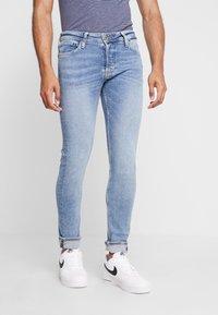 Jack & Jones - JJIGLENN JJORIGINAL - Jeans slim fit - blue denim - 0