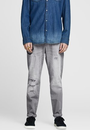 Straight leg jeans - light gray