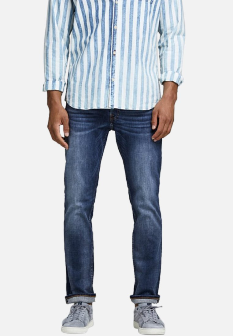 Jack & Jones - TOM - Jeans Straight Leg - blue denim