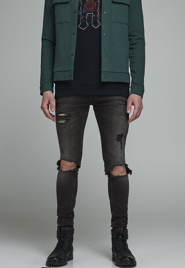 Jack & Jones - TOM ORIGINAL  - Jeans slim fit - black denim