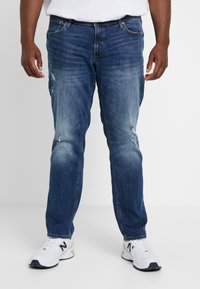 Jack & Jones - JJITIM JJORIGINAL - Jeans straight leg - blue denim - 0