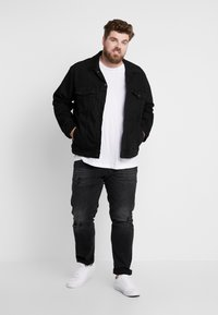 Jack & Jones - JJITIM JJORIGINAL - Straight leg jeans - black denim - 1