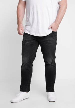 JJITIM JJORIGINAL - Straight leg jeans - black denim