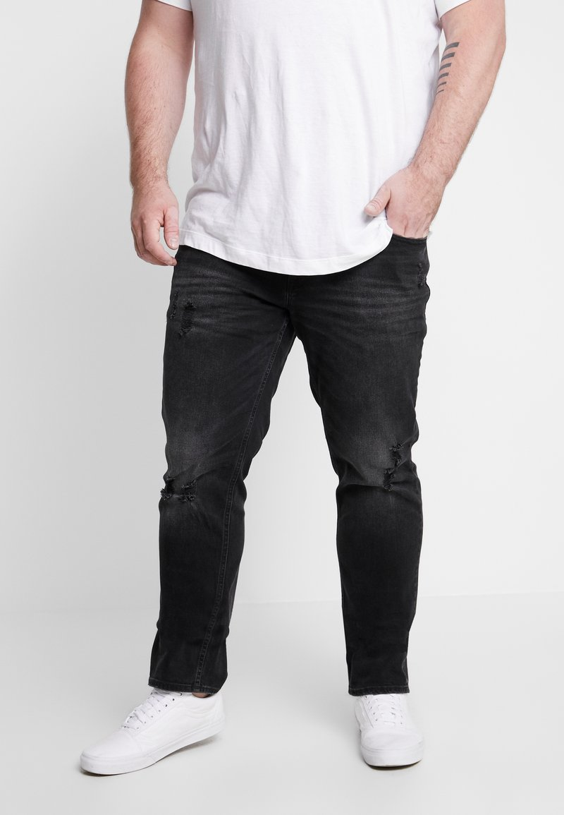 Jack & Jones - JJITIM JJORIGINAL - Jeans Straight Leg - black denim