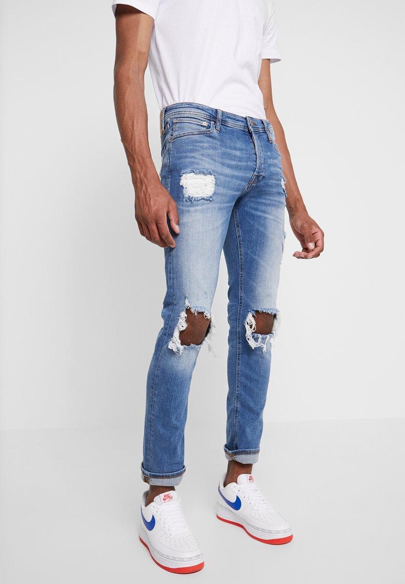 Jack & Jones - JJIGLENN JJORIGINAL  - Jeans Skinny Fit - blue denim