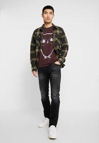 Jack & Jones - JJIGLENN JJORIGINAL  - Jeans slim fit - black denim - 1
