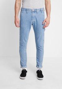 Jack & Jones - JJIFRED JJTOOL - Jeans Tapered Fit - blue denim - 0