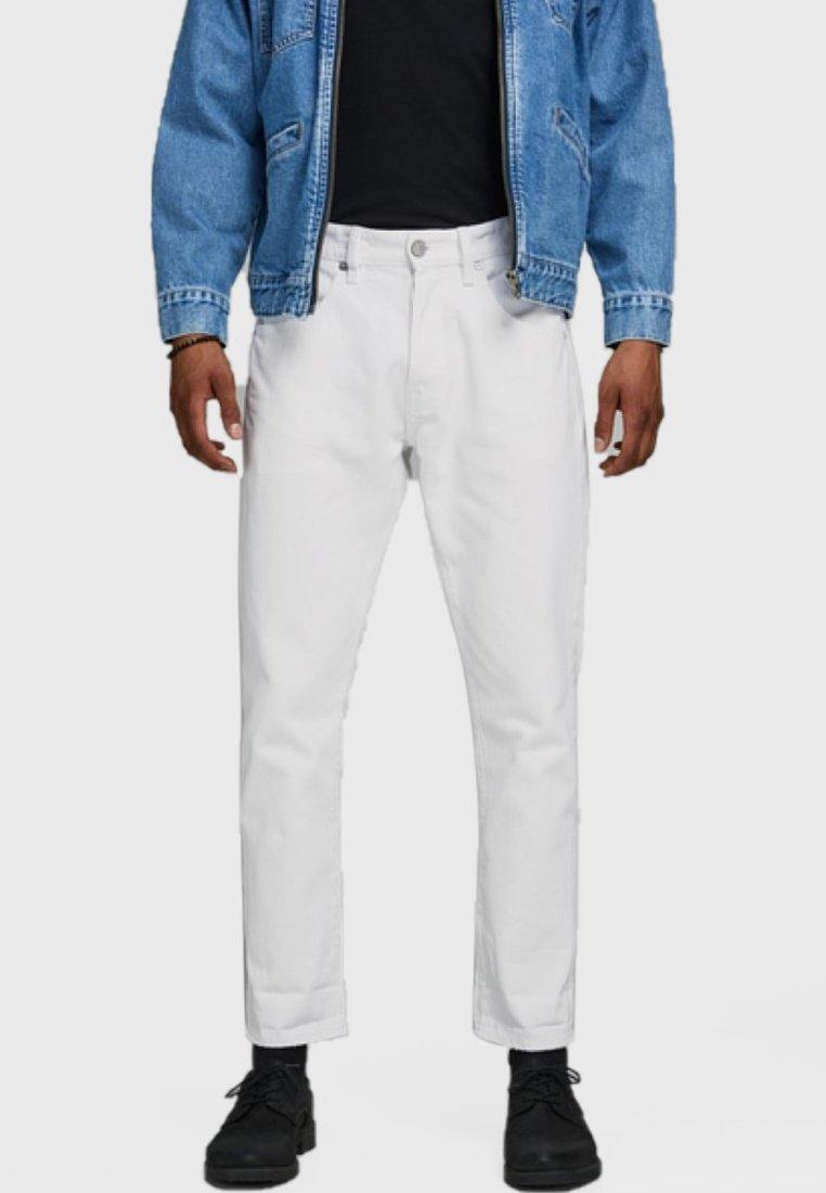 Jack & Jones - Straight leg jeans - white
