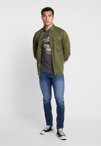 Jack & Jones - JJITOM JJORIGINAL - Jeans Skinny Fit - blue denim - 1
